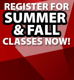 Text: Register for summer and fall classes