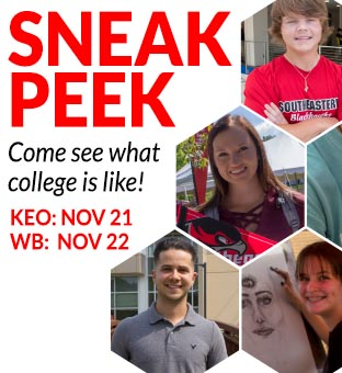 register for sneak peek