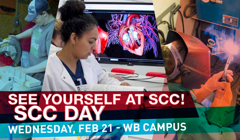 scc day is Feb 21. Join us!