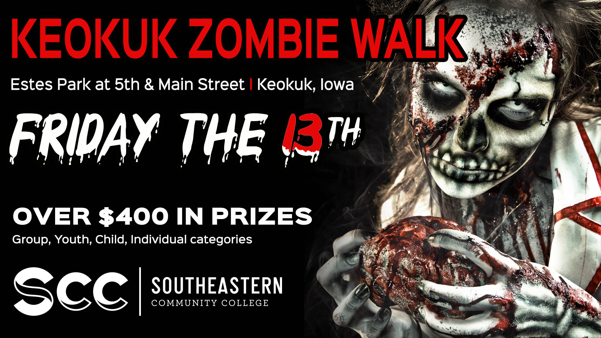 Come to the annual Zombie Walk